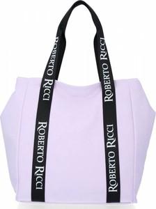 Torebka Roberto Ricci ze skóry ekologicznej na ramię w wakacyjnym stylu