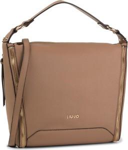 Brązowa torebka Liu-Jo duża na ramię