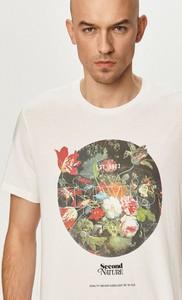 T-shirt Levis w młodzieżowym stylu z dzianiny