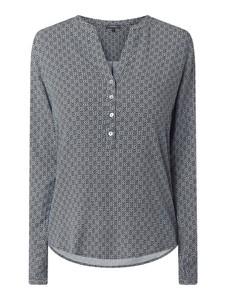 Bluzka Montego w stylu casual z dekoltem w kształcie litery v