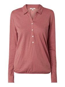 Czerwona bluzka Tom Tailor z bawełny