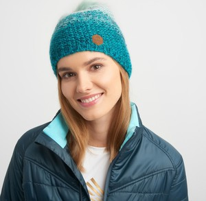 Turkusowa czapka Elbrus w stylu casual