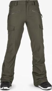 Zielone spodnie sportowe Volcom