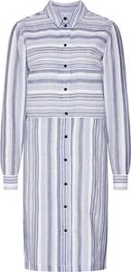 Sukienka Vila midi z długim rękawem w stylu casual