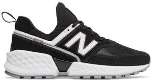 Buty sportowe New Balance w sportowym stylu sznurowane z zamszu