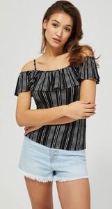 Bluzka Moodo z krótkim rękawem w stylu casual