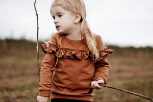 Bluza dziecięca Little Gold King z bawełny