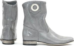 Botki Zapato ze skóry