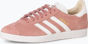 Trampki Adidas Originals z weluru w sportowym stylu z płaską podeszwą