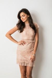 Sukienka Fashion Manufacturer z tiulu