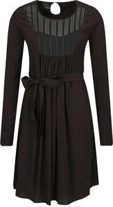 Sukienka Pinko mini rozkloszowana z długim rękawem