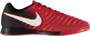 Czerwone buty sportowe Football