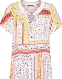 Bluzka S.Oliver Red Label z krótkim rękawem w stylu casual