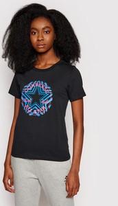 Bluzka Converse z krótkim rękawem z okrągłym dekoltem
