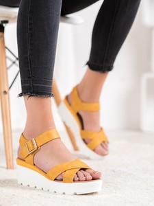 Sandały Czasnabuty na średnim obcasie