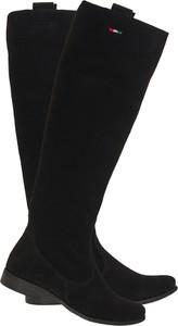 Kozaki Lafemmeshoes ze skóry w stylu casual