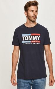 T-shirt Tommy Jeans z krótkim rękawem