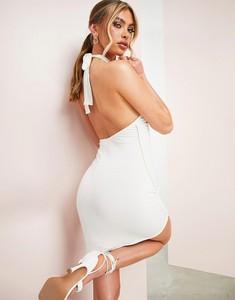 Sukienka Asos Luxe mini z okrągłym dekoltem