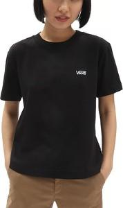 Czarny t-shirt Vans z krótkim rękawem
