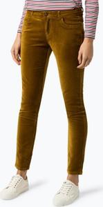Żółte spodnie Marie Lund