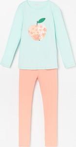 Piżama Reserved dla dziewczynek z bawełny