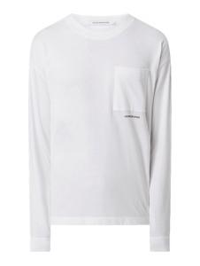 Koszulka z długim rękawem Calvin Klein z bawełny w stylu casual z długim rękawem