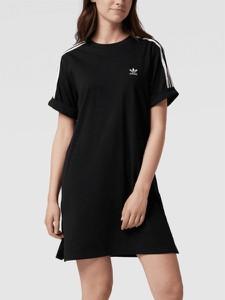 Sukienka Adidas Originals z dżerseju mini w stylu casual