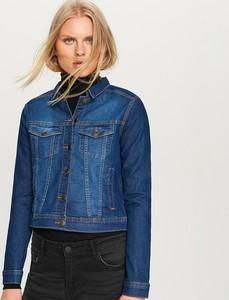Kurtka Reserved z jeansu w młodzieżowym stylu