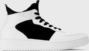 Kazar Studio Białe sneakersy męskie