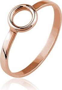 Lian Art Pierścionek minimalistyczny z kołem Tuva mini - rose gold