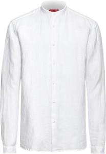 Koszula hugo z długim rękawem z lnu