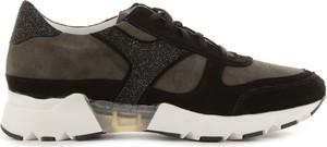 Buty sportowe bayla sznurowane ze skóry