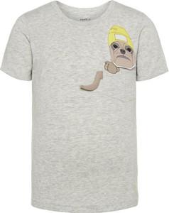 Koszulka dziecięca Name it z bawełny