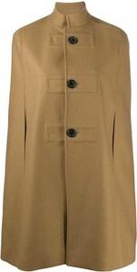 Brązowy płaszcz SAINT LAURENT w stylu casual