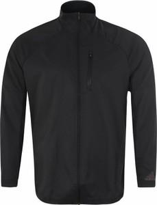 Czarna kurtka Adidas Performance w stylu casual