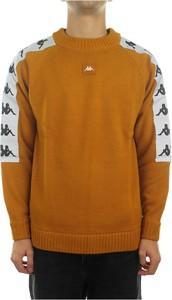 Pomarańczowa bluza Kappa z bawełny