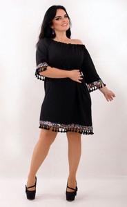 Czarna sukienka Oscar Fashion