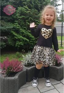 Sukienka dziewczęca Petit Boutique - Moda Dziecięca