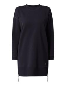 Czarna sukienka Joop! w stylu casual z dzianiny z długim rękawem