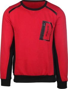 Czerwona bluza Neidio z dresówki