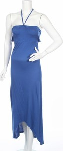 Niebieska sukienka Castro maxi