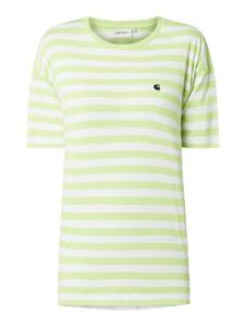 Zielona bluzka Carhartt Work In Progress z krótkim rękawem w stylu casual