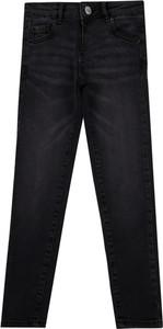 Czarne jeansy dziecięce Guess