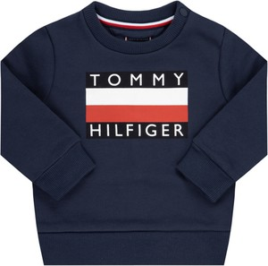 Czarny dres dziecięcy Tommy Hilfiger