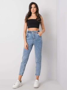 Jeansy Promese z jeansu w stylu casual