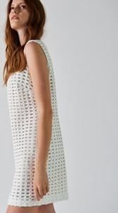 8f917028d5 złota sukienka simple - stylowo i modnie z Allani