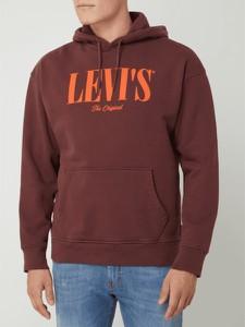 Bluza Levis w młodzieżowym stylu z nadrukiem z bawełny