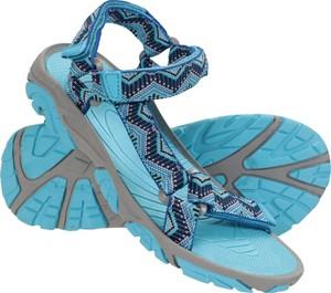 Niebieskie buty dziecięce letnie Mountain Warehouse dla chłopców