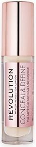 Makeup Revolution Conceal and Define korektor w płynie C1 3.4 ml