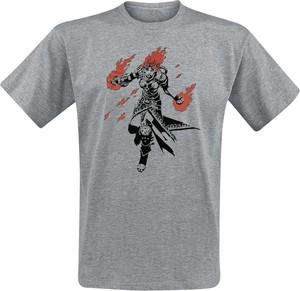 T-shirt Emp w młodzieżowym stylu z bawełny z krótkim rękawem